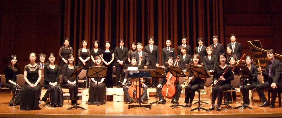 Gamut Bach Ensemble, October 2011 in Tokyo